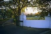 Entrance to Buitenverwachting Wine Farm, Constantia, S. Africa