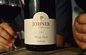 Bottle of 'Gladstone Pinot Noir' (Johner Estate, Martinborough)