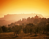 Sunrise over Orvieto, Umbria, Italy