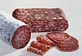 Assorted Italian salami