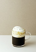 Pharisäer (coffee with rum and whipped cream, Vienna)