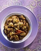 Vindaloo (spicy lamb ragout, India)