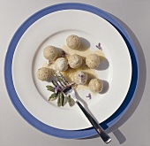 Canederli (bread dumplings), Alto Adige, Italy