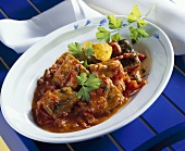 Carp goulash (Hungary)