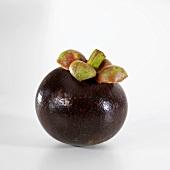 A mangosteen