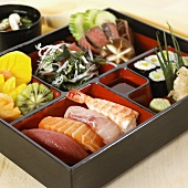 Complete meal in a box (Japan)