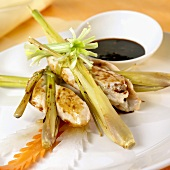 Gay yarng takrai (Chicken with lemon grass, Thailand)