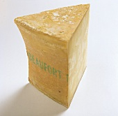 A piece of Beaufort (French hard cheese)