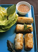 Cha gio (deep-fried spring rolls, Saigon, Vietnam)