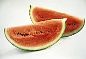 Two Watermelon Quarters
