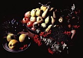 Still Life with Many Assorted Fruit