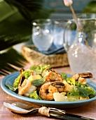 Creole shrimp salad