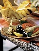 Artischockensalat mit Tomate & Oliven