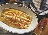 Pancake gratin