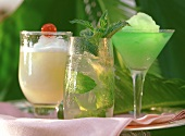 Frozen Daiquiri, Daiquiri Chicklet, Mojito