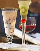 Buttermilk-cherry drink, Success, beetroot & vegetable juice