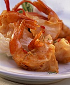 Shrimp Fried in Rice Paper