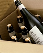 Several bottles of Prosecco dei Colli Trevigiani in box