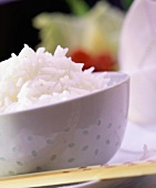 Bowl of Cooked White Rice