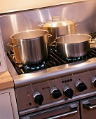 Pots on the Stove