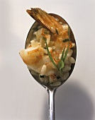 Risotto ai frutti di mare (Risotto with shrimps & tarragon)