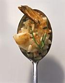 Risotto ai frutti di mare (Risotto with shrimps & tarragon)