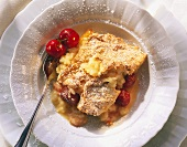 Cherry-Rice Pudding Bake
