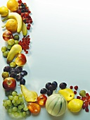 Whole Fresh Fruits Still Life