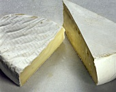 Supreme and Geramont (soft white cheeses from France)