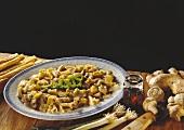 Entenfleisch mit Fu-Zhu & Paprikadrachen