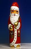 Chocolate Foiled Santa