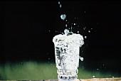 Splashing Glass of Water