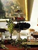 Three-tiered Fruit Decoration Centerpiece