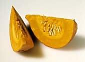 Two Pumpkin Wedges