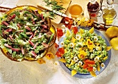 Two Spring Salads
