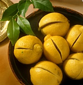 Moroccan lemons in syrup