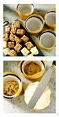 Making ice cream souffle