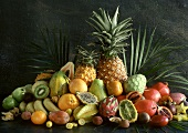 Many Exotic Fruits