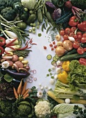 Many Fresh Vegetables