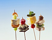 Assorted Party Appetizer Skewers