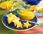 Cut Star Fruit