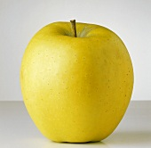 A Single Golden Delicious Apple