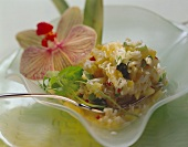 Rice Salad with Mango and Vegetables