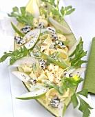 Pappardelle sedano e pere (Pasta with celery & pears)