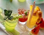 Melon Cocktails
