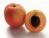 An Apricot; Whole and Half