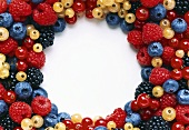 Assorted Berries in a Circle
