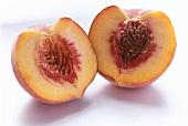 A Sliced Nectarine