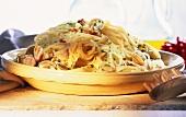 Pasta alle vongole (Spaghetti mit Venusmuscheln & Chili)