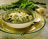 Risotto alle erbe (risotto with fresh herbs, Italy)